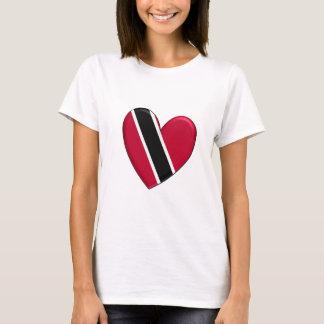 Trinidad Heart Flag T-shirt