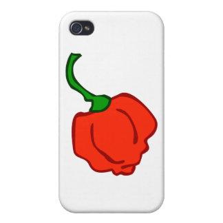 Trinidad Moruga Scorpion Chili iPhone 4/4S Cover
