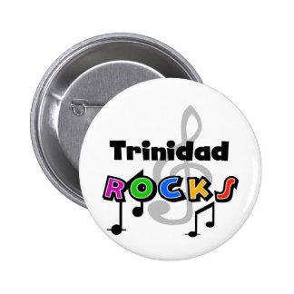 Trinidad Rocks Pinback Button