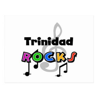 Trinidad Rocks Postcard