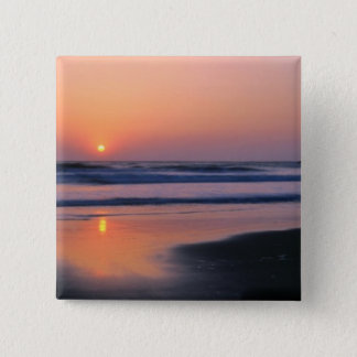 Trinidad State Beach, California. USA. Sea 2 15 Cm Square Badge