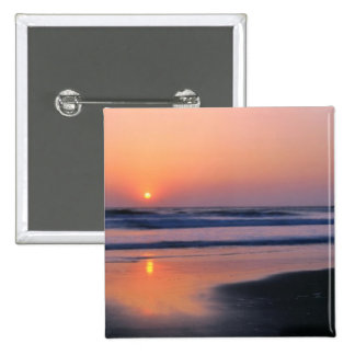 Trinidad State Beach, California. USA. Sea 2 15 Cm Square Badge