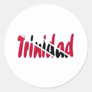 Trinidad & Tobago Classic Round Sticker