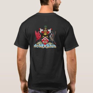 Trinidad & Tobago flag and coat of arms T-Shirt