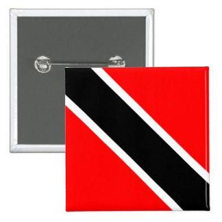Trinidad Tobago Flag Button