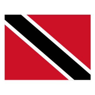 Trinidad & Tobago Flag Postcard