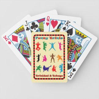 Trinidad & Tobago Funny Trini People Deck Of Cards