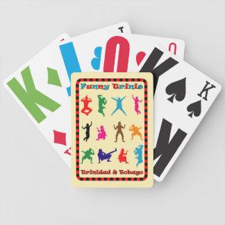 Trinidad & Tobago Funny Trinis Bicycle Poker Cards