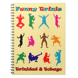 Trinidad & Tobago Funny Trinis Notebooks