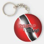 Trinidad & Tobago Keychain