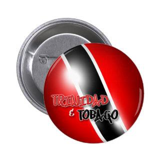 Trinidad Tobago Patriotic Button