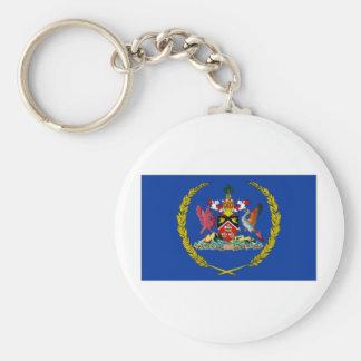 Trinidad Tobago President Flag Key Chain
