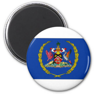 Trinidad Tobago President Flag Magnet