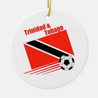 Trinidad & Tobago Soccer Team Christmas Ornament