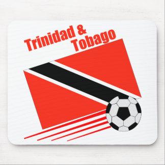Trinidad & Tobago Soccer Team Mouse Mats