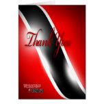 Trinidad & Tobago Thank You Greeting Card