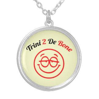 Trinidad & Tobago Trini To The Bone Round Pendant Necklace