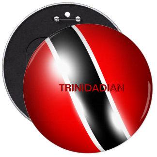 Trinidad Tobago Trinidadian Button