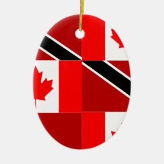 Trinidadian-Canadian Ceramic Oval Decoration