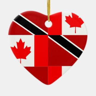 Trinidadian-Canadian Christmas Ornament