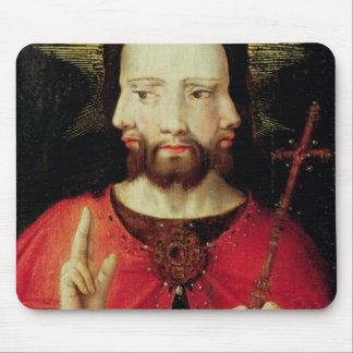 Trinitarian Christ, c.1500 Mouse Mat