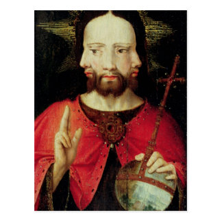 Trinitarian Christ, c.1500 Postcard