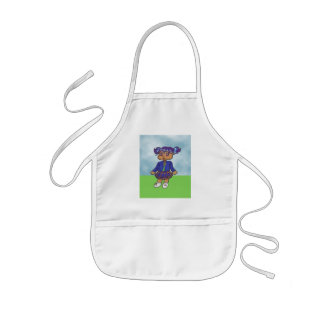 Trinity Anime Art Gallery Character Kids Apron