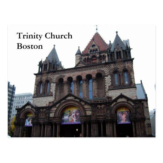 Trinity Church Boston Postcard