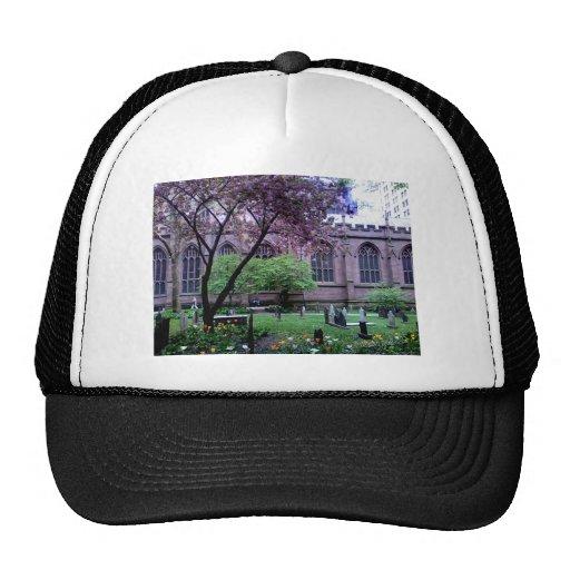 Trinity Church, Broadway, NYC April 2011 Hat