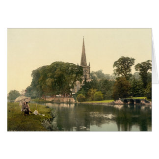 Trinity Church I, Stratford-upon-Avon, England Card