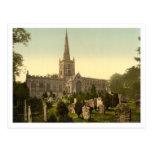 Trinity Church II, Stratford-upon-Avon, England Post Card