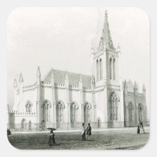 Trinity church, Port of Spain Square Sticker