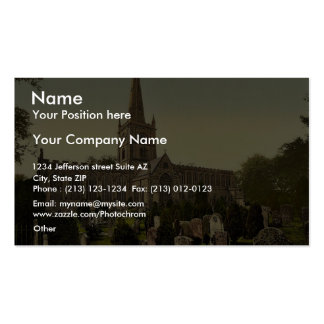 Trinity Church yard, Stratford-on-Avon, England ra Business Card