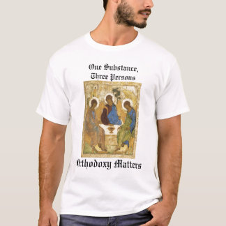 Trinity Icon: Orthodoxy Matters T-Shirt