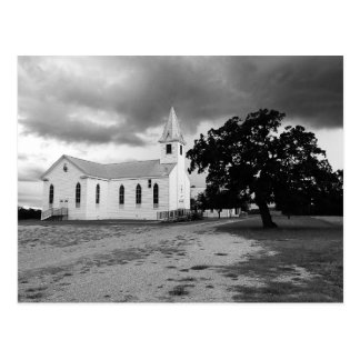Trinity Lutheran Church - Fedor, Texas - Postcard