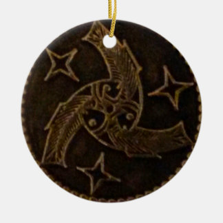 Trinity of God - three fish Christmas Ornament