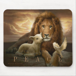 TRINITY OF PEACE  mousepad