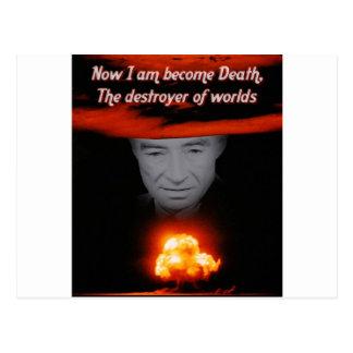 Trinity Robert Oppenheimer Postcard