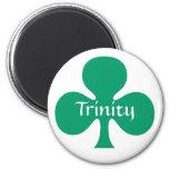 Trinity Shamrock Magnet St Patrick Symbol Symbolic