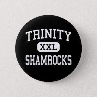 Trinity - Shamrocks - High - Louisville Kentucky 6 Cm Round Badge