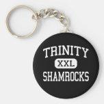 Trinity - Shamrocks - High - Louisville Kentucky Key Chains