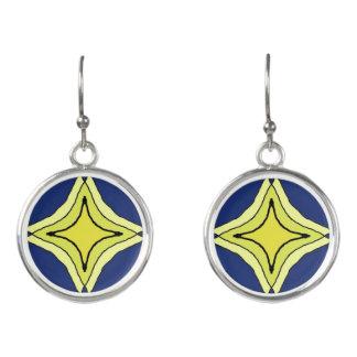Trinity Star Earrings