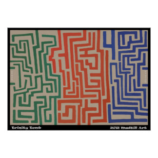 Trinity Tomb Maze Poster
