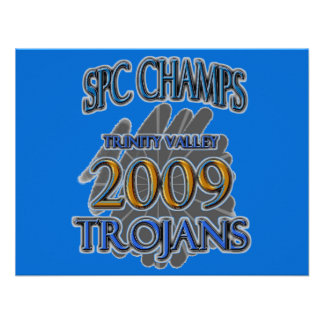 Trinity Valley 2009 SPC CHAMPIONS - Fort Worth TX Personalized Announcement