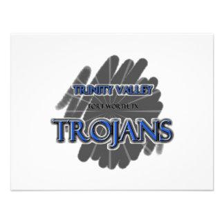 Trinity Valley School Trojans - Fort Worth, TX Custom Invites