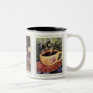 Trio Coffee Two-Tone Coffee Mug