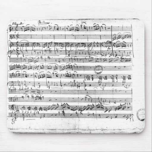 Trio, in E flat major 'Kegelstatt' Mouse Pad