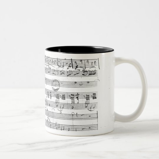 Trio, in E flat major 'Kegelstatt' Two-Tone Coffee Mug