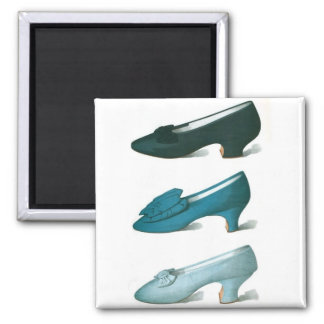 Trio of Blue Shoes Magnet