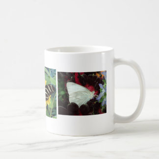Trio of Butterflies Classic White Coffee Mug